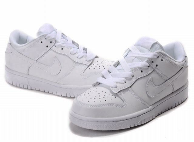 nike dunk blanche femme